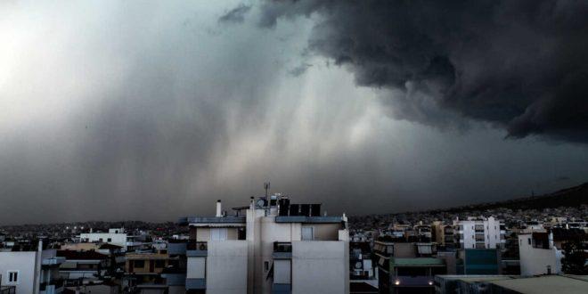 Καιρός : Κακοκαιρία εξπρές την Κυριακή – Πού θα σημειωθούν ισχυρές καταιγίδες