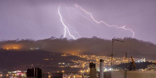 Έκτακτο δελτίο επικίνδυνων καιρικών φαινομένων – Καταιγίδες, άνεμοι και χαλάζι