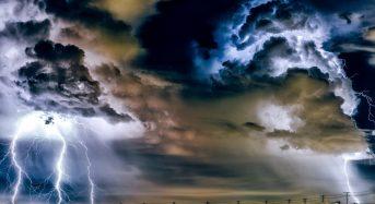 Πάλι άστατος την Δευτέρα ο καιρός με καταιγίδες και χαλάζι