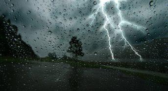 Meteo – Προειδοποίηση για ισχυρές βροχές τη νύχτα στη Βόρεια Εύβοια