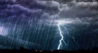 Meteo: Προειδοποίηση για ισχυρές βροχές και καταιγίδες στις πυρόπληκτες περιοχές