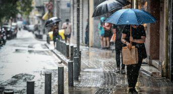 Νέο έκτακτο δελτίο επιδείνωσης καιρού με ισχυρές βροχές και καταιγίδες